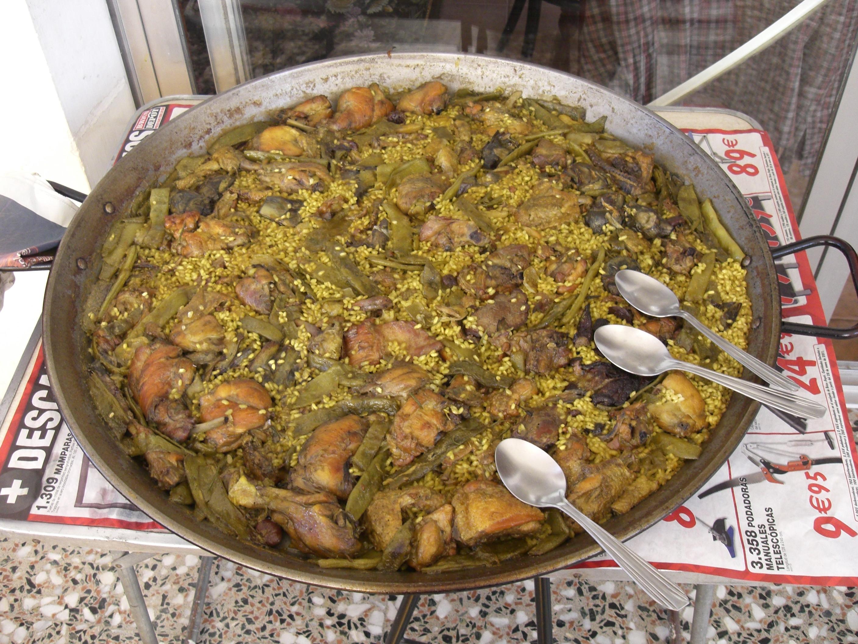 Recetas De Cocina Española Paella Valenciana | Texto Y Fotografias Receta Paella Valenciana Blog De Enrique