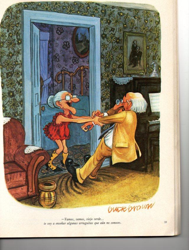 un chiste de la abuelita de el humor de playboy