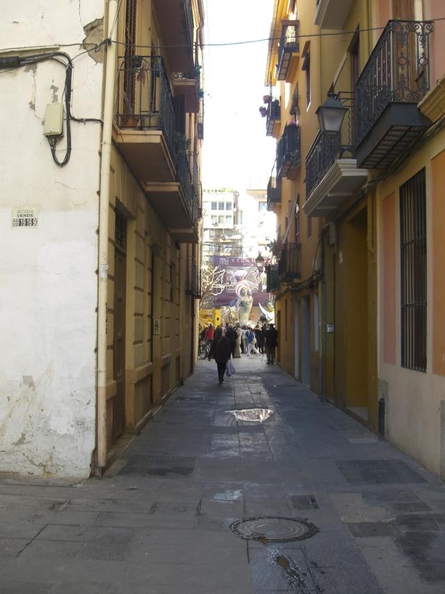 Caminando hacia la falla del Pilar