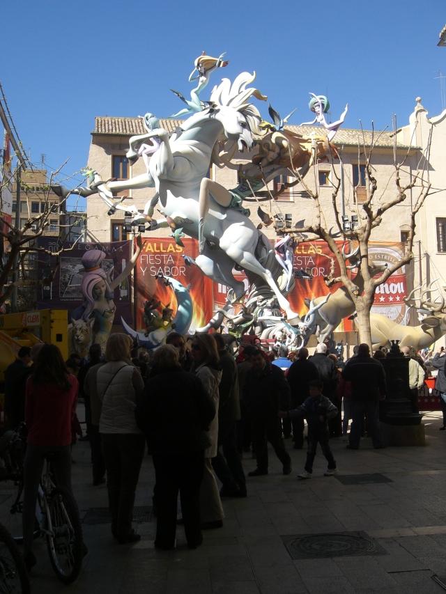 Falla del Pilar 2013 Valencia