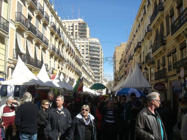 Calle Convento jerusalen de Valencia