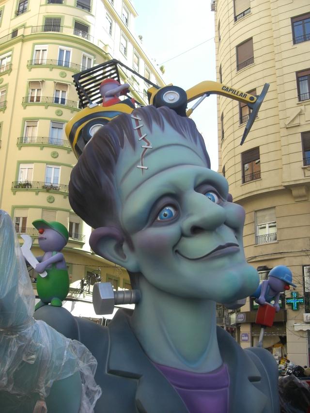 Falla 2013 calle Garrigues de Valencia