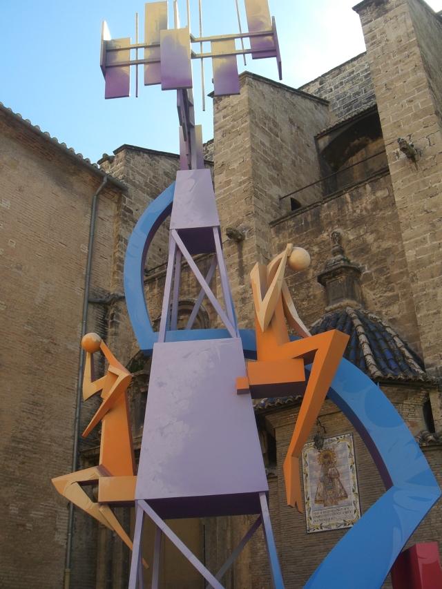 Falla de la Iglesia de los Santos Juanes 2013 Valencia