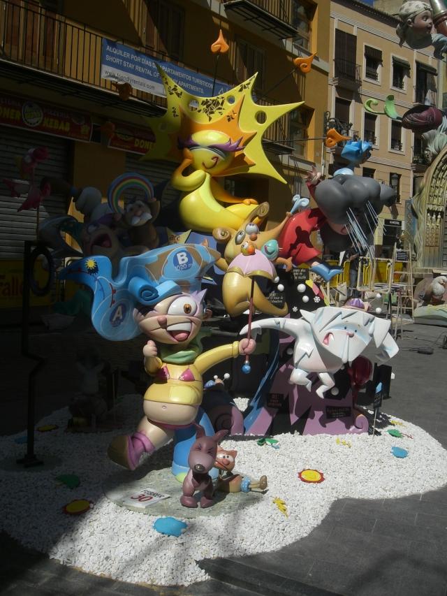 Falla infantil Plaza del Tossal Valencia 2013