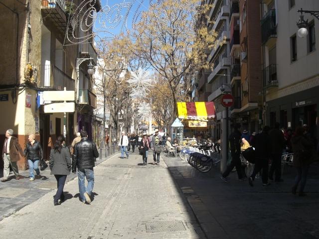 Camino de la Plaza de Na Jordana.