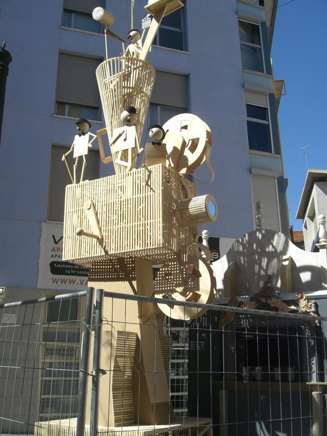 Falla original calle alta barrio del carmen 2013