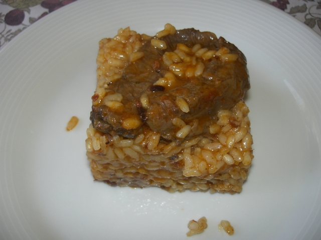 arroz de ternera