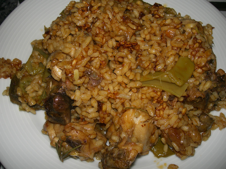 Arroz con pollo blog de enrique fornes angeles - Judias pintas con arroz olla express ...