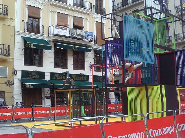 Falla Plaza de la Merced 2013