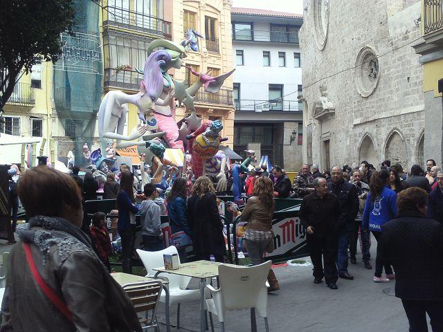 Falla Plaza Lope de vega 2013