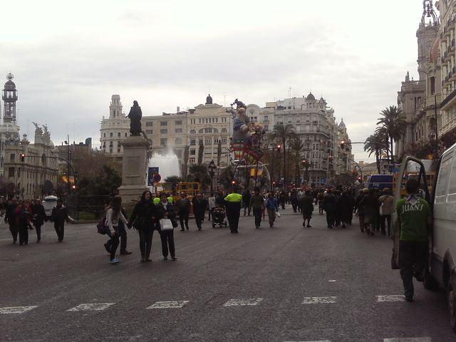 Plaza del Ayuntamiento marzo 2013