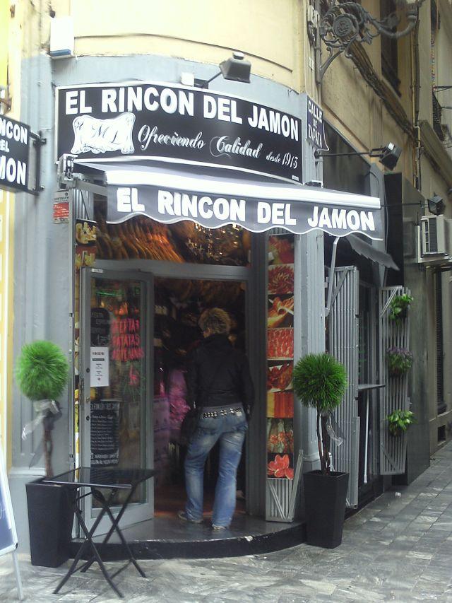 El rincon del jamon Valencia fallas 2013