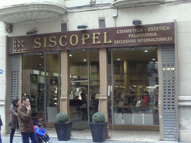 Siscopel, tienda de articulos de peluqueria.