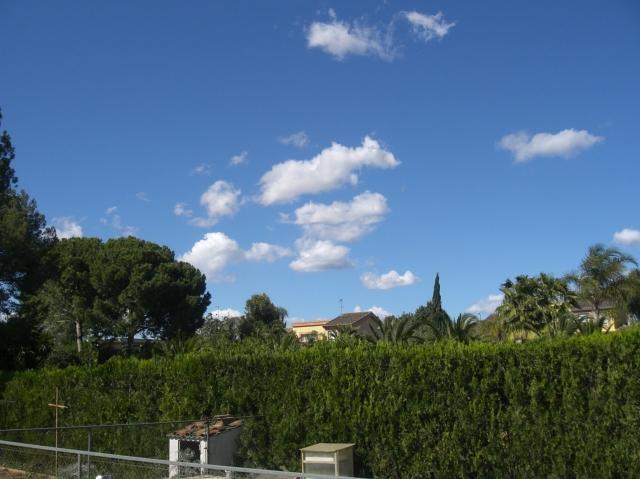 Cielo azul de Valencia
