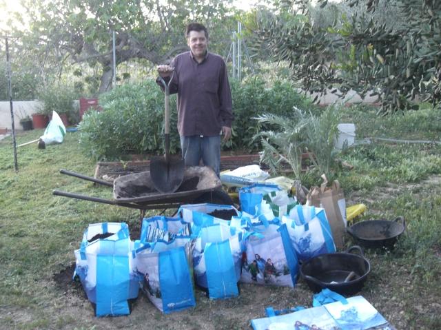 cultivo en bolsas de plastico ecologicas