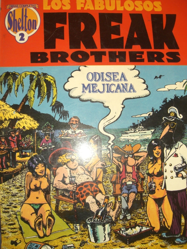 odisea mejicana freak brothers