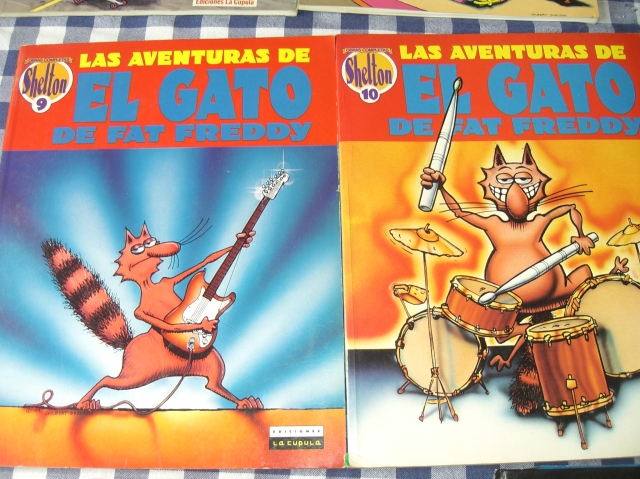 comic el gato de fat freddy