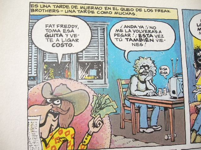 viñeta de freak brothers