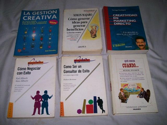 Libros de Creatividad.