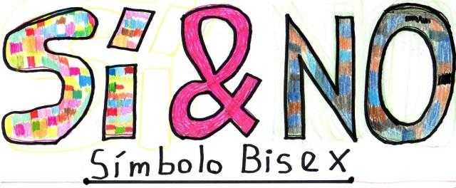 Sí & No simbolo bisex