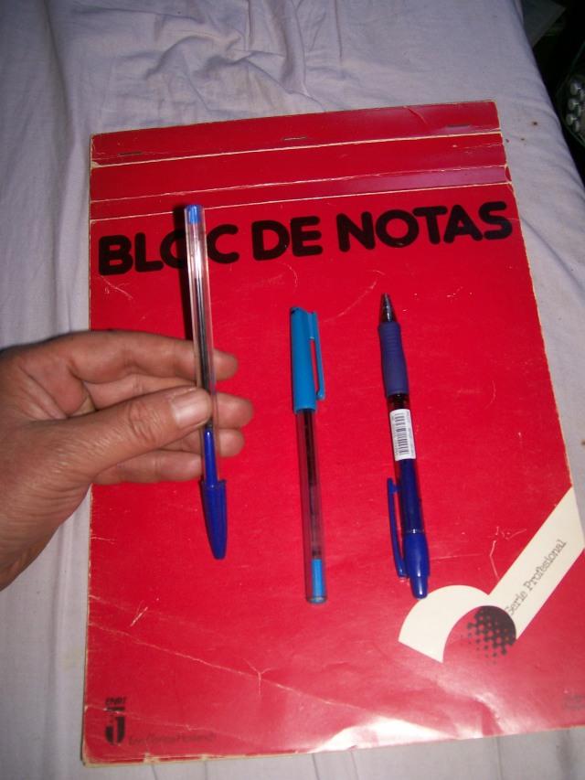 Bolígrafos Bic, Standler y Pilot