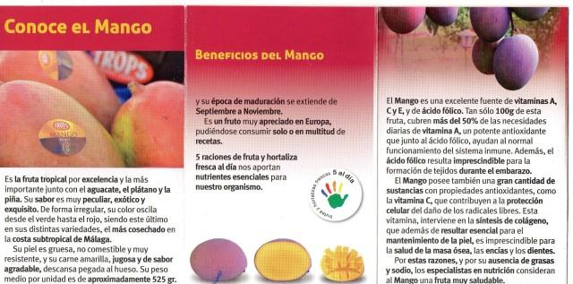 publicidad del mango