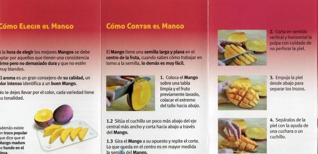recetas del mango