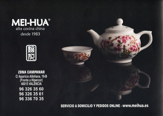 propaganda de restaurante chino